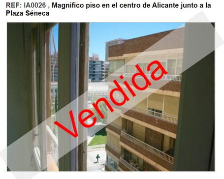 venta vivienda alicante inmobiliaria centro